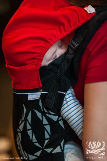 magyarinda babahordozás alvókapucni alvócsuklya hordozókendő